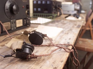 Listening devices used at Bletchley Park during the second world war.
