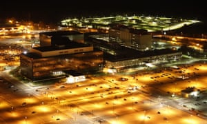 The headquarters of the US National Security Agency.