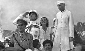 Lord Mountbatten, Edwina Mountbatten, Jawaharlal Nehru