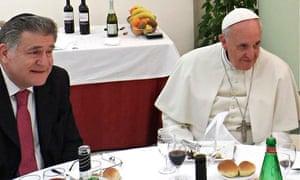 Pope Francis right and Rabbi Abraham Skorka