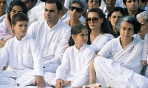 First Anniversary of Death of Sanjay Gandhi