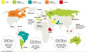 World map of legal highs