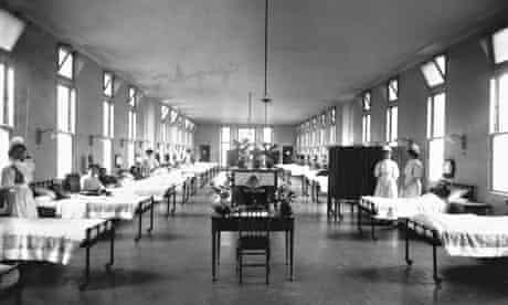 Hospital in 1914.