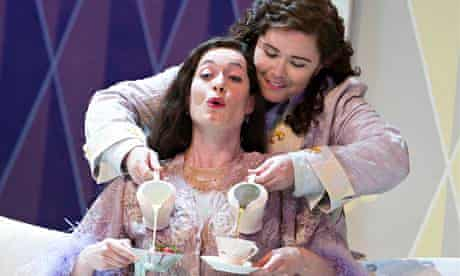 Kate Royal and Tara Erraught in Der Rosenkavalier at this year's Glyndebourne festival.