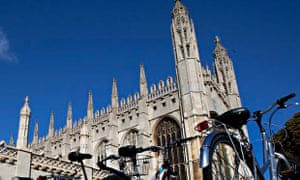 Cambridge university has topped the Guardian undergraduate university league table for the fourth year in a row