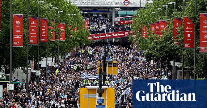 Championship play-off final: Derby v QPR – in pictures