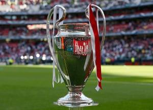 Champions League: The Champions League trophy
