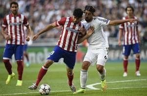 Champions League.: Atletico Madrid's Brazilian-born forward