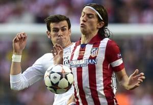 Champions League.: Real Madrid's Welsh forward Gareth Bale