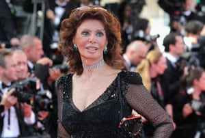 "Sophia Loren attends the Closing Ceremony and ""A Fistful of Dollars"" screening"