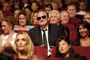 US director Quentin Tarantino attends the closing ceremony