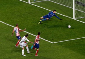 Champions League-: Real Madrid's Bale