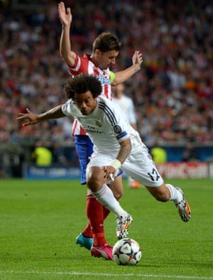 Marcelo evades the challenge of Gabi