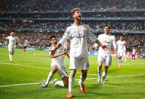 Champions League-: Real Madrid's Ramos