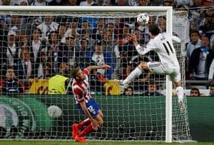 football--: Real Madrid's Bale