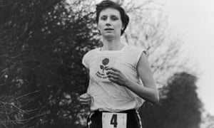 Diane Leather in 1956. Two years' earlier she ran a mile in less than five minutes