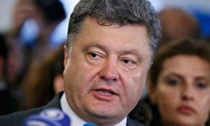 Poroshenko, Ukraine elections