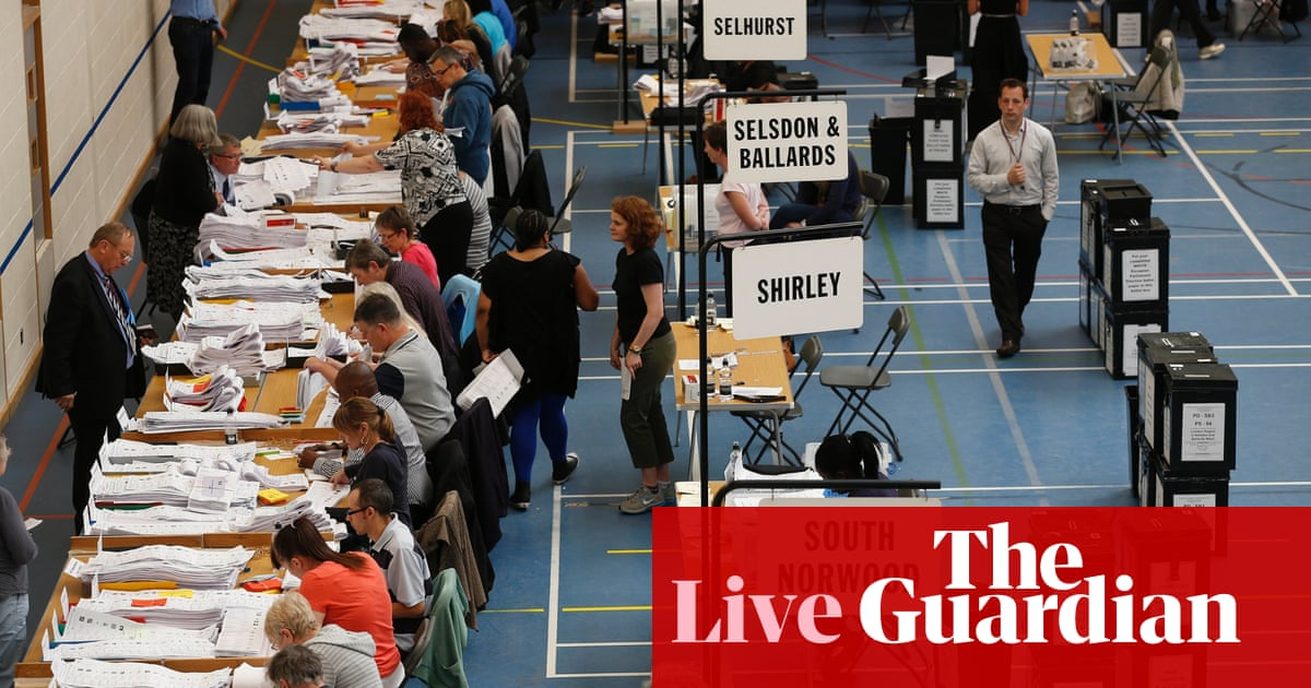 EU election results - as they happened | Politics | The Guardian