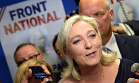 French far-right Marine Le Pen