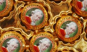 Mozartkugeln (Mozart chocolate balls), Austria