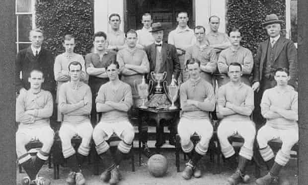 Queen's hospital football team