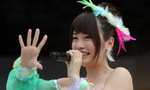 Rina Kawaei performing in Yokohama last year.