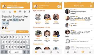 Foursquare's new app, Swarm.