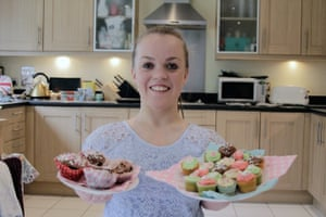 bake off: Ellie Simmonds