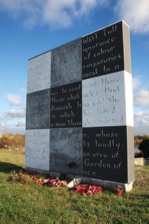 Walter Tull: Image 8 memorial