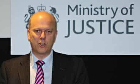 Chris Grayling ministry of justice