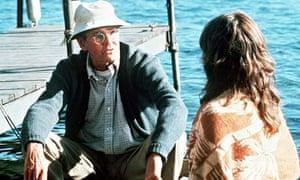 Henry Fonda in On Golden Pond.