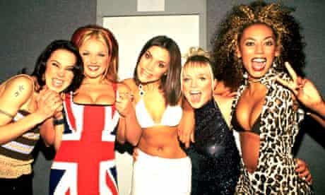Spice Girls off stage