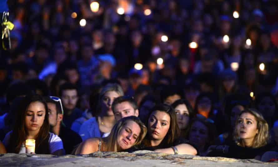 Santa Barbara shooting vigil