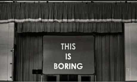 The Boring Conference – the fascinating world of the mundane and ordinary    Conferences   The Guardian