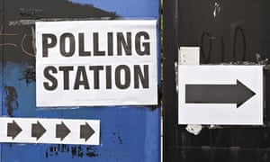Polling station in Tower Hamlets