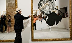 pistoletto mirror smashing
