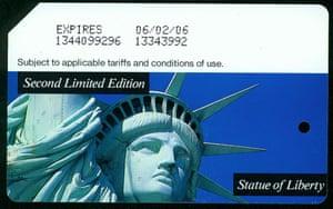 Metrocard statue of liberty