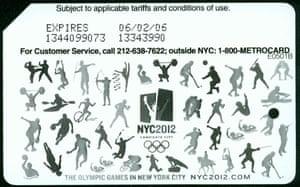 Olympics MetroCard
