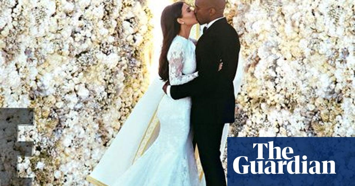 Kim Kardashian S Givenchy Wedding Dress Stylewatch Givenchy The Guardian