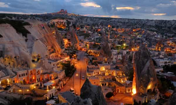 How the ancient underground city of Cappadocia became a fruit warehouse |  Cities | The Guardian