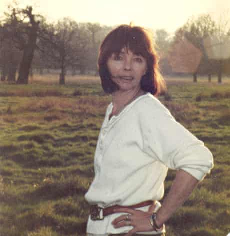 Judith Flanagan in Richmond Park