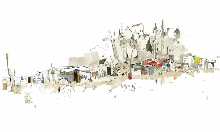 George Butler roadside settlement