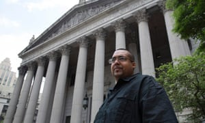 Hector Xavier Monsegur,outside the US district court for the southern district of New York.