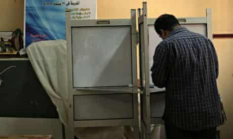 Cairo voter