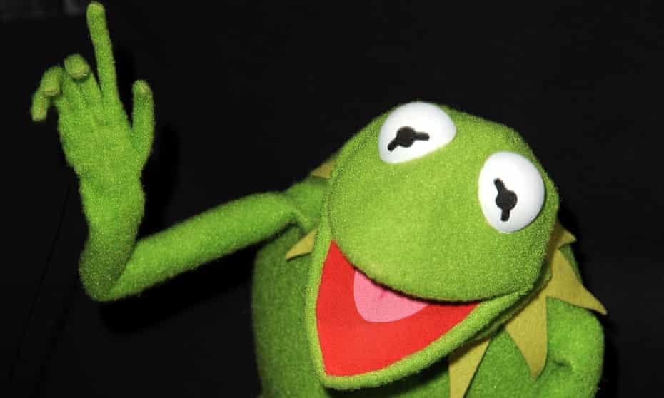 kermit the frog finger