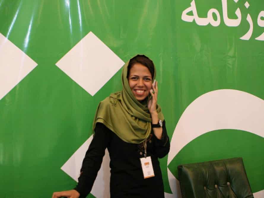 Iranian journalist Saba Azarpeik