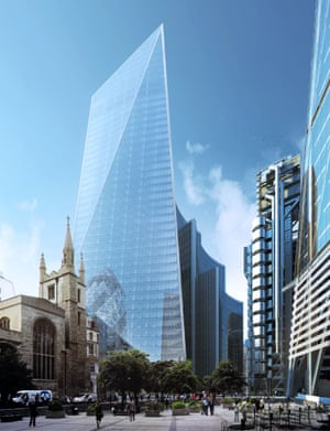 The Scalpel … ready to slice up the Gherkin.