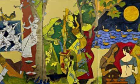 mf husain indian festivals