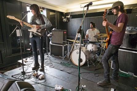 Courtney Barnett on tour: soundcheck at the Harley, Sheffield