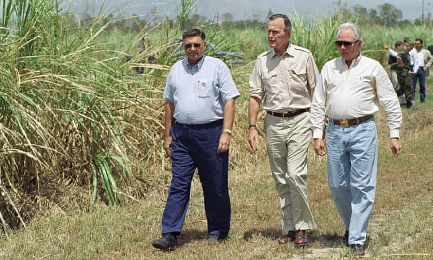 George Bush and Edwin Edwards